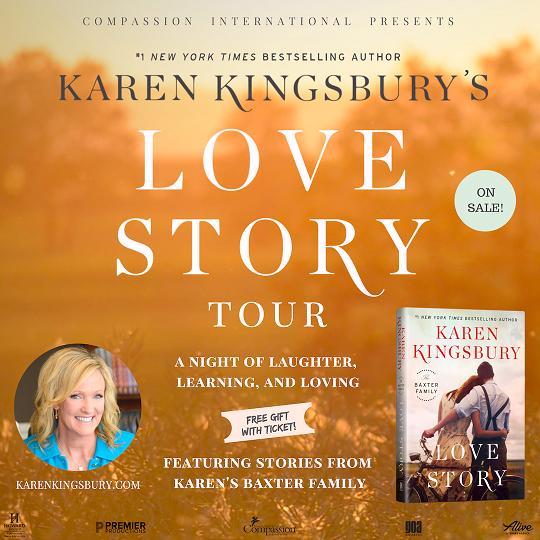 Karen Kingsbury's Love Story Tour