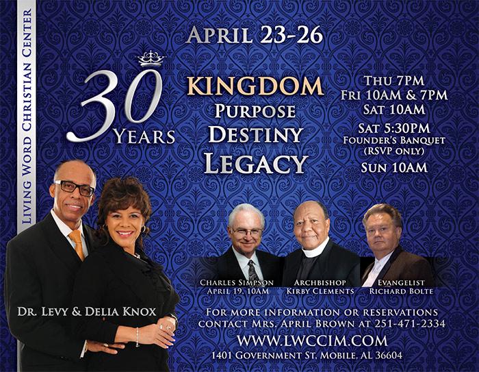 Living Word Christian Center's 30th Anniversary Celebration
