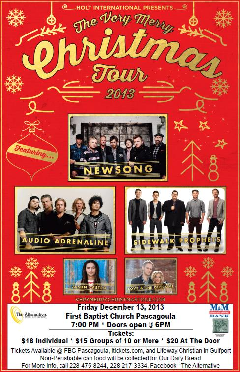Newsong's Very Merry Christmas Tour