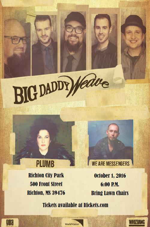 Big Daddy Weave's Beautiful Offerings Tour