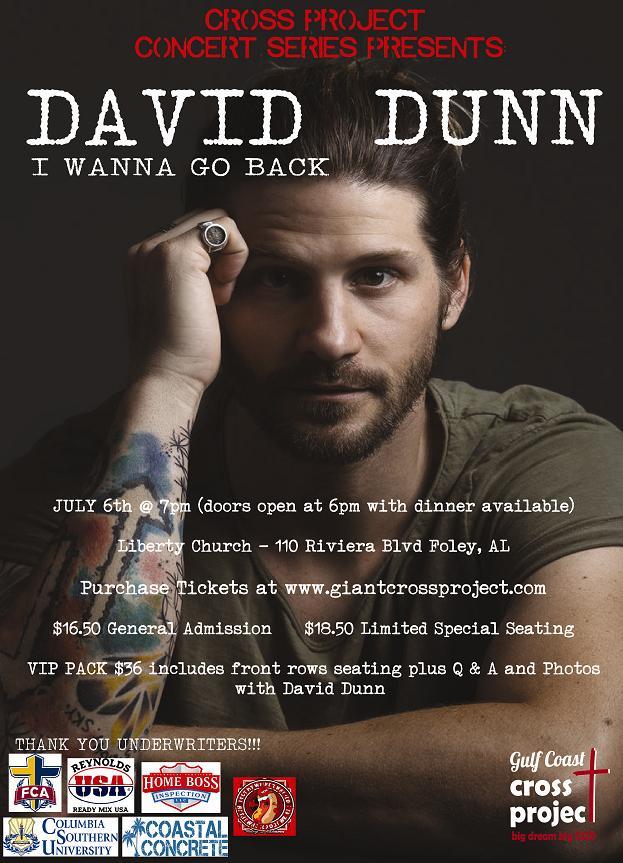 David Dunn in Concert