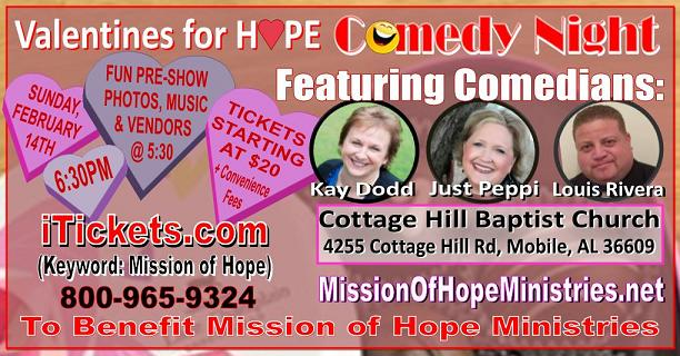 Valentines For Hope Comedy Night